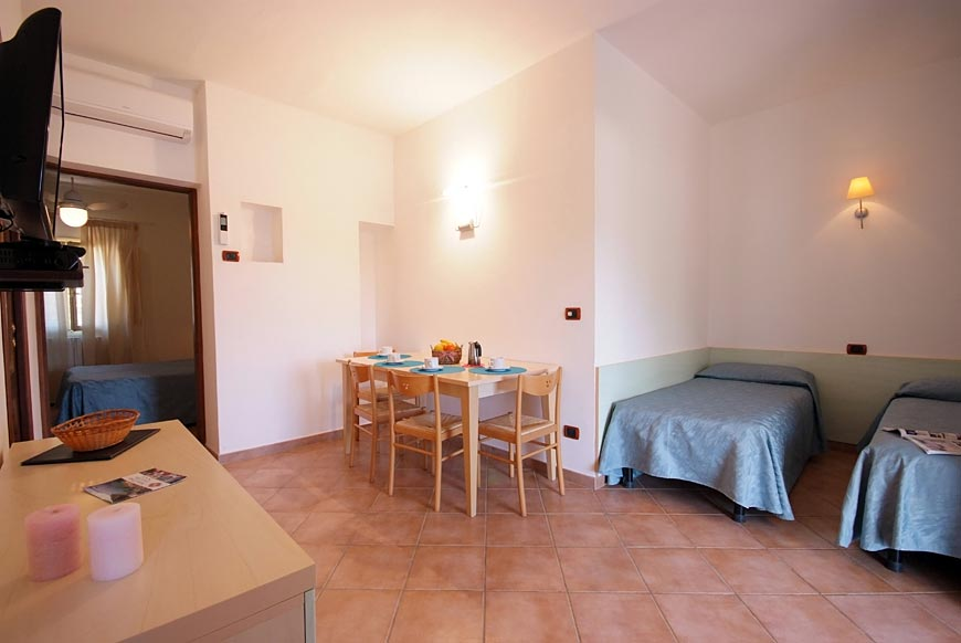 Hotel Dino, Island of Elba: 2-room for 4 people