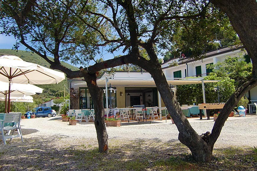 Hotel Dino, Island of Elba: the restaurant